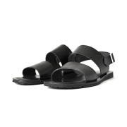 Nuovo Nicar - Leather Strap Sandal (M7307) - Black