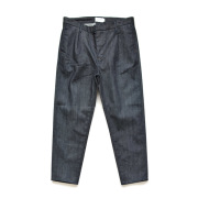 STILL BY HAND - 1tuck Tapered Denim Pants