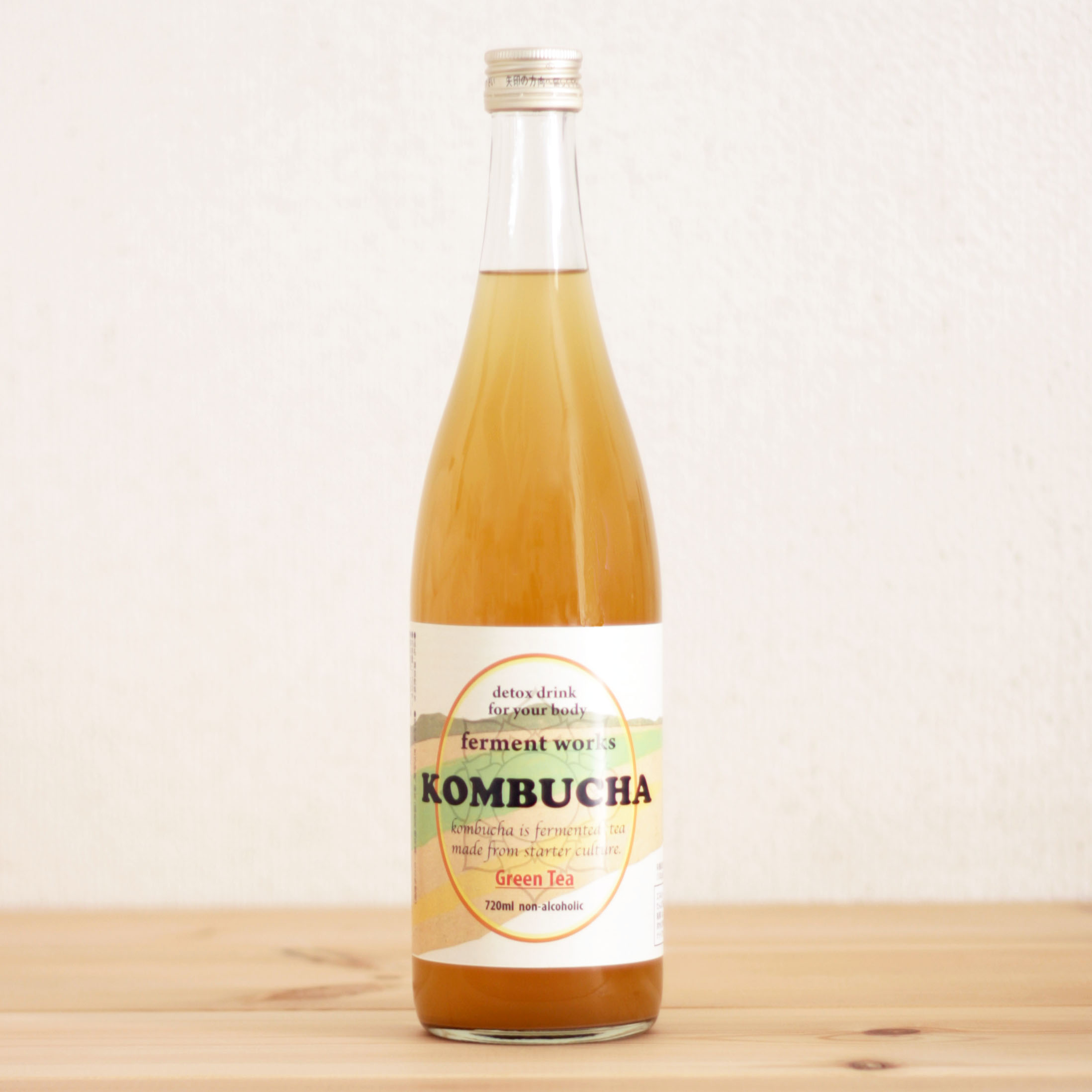 ferment works KOMBUCHA【コンブチャ】【紅茶キノコ】  グリーンティー720ml