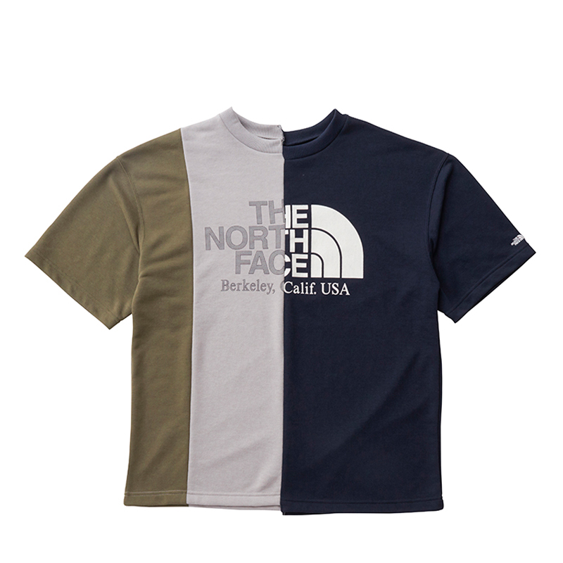 THE NORTH FACE PURPLE LABEL ノースフェイス パープルレーベル Asymmetry Logo Tee