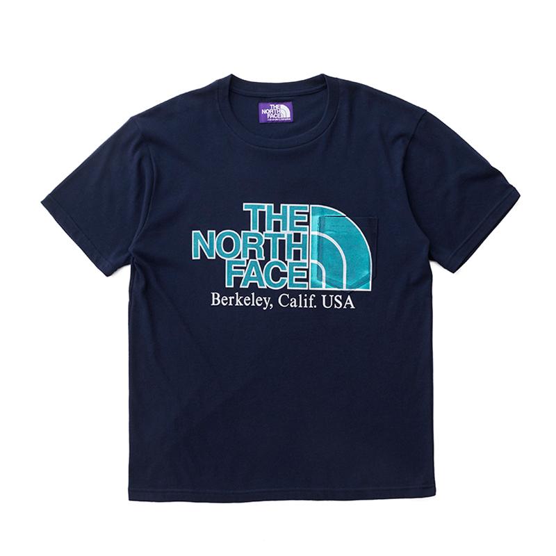 THE NORTH FACE PURPLE LABEL ノースフェイス パープルレーベル H/S Logo Pocket Tee