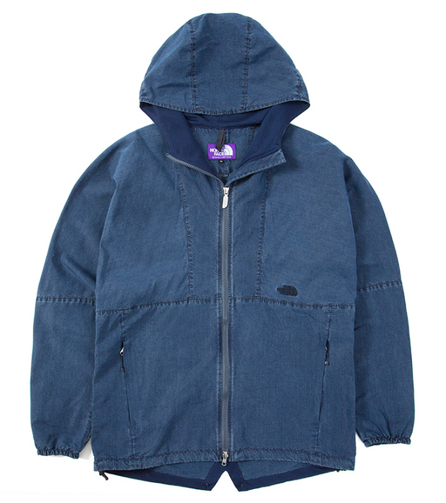 [THE NORTH FACE PURPLE LABEL] ザ ノースフェイス パープルレーベル Indigo Mountain Wind Parka