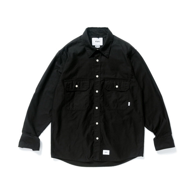 WTAPS ダブルタップス 2018AW CPO / SHIRT. COTTON. MOLESKIN