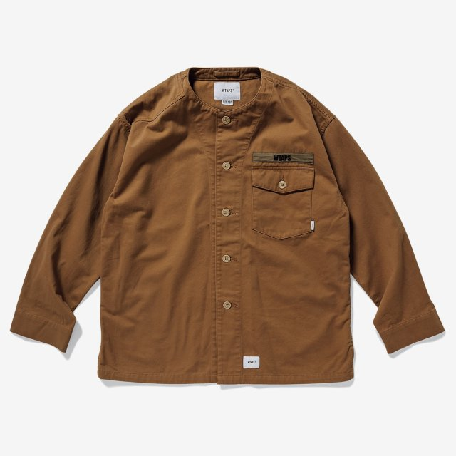 WTAPS ダブルタップス 2019AW SCOUT LS / SHIRT. COTTON. TWILL