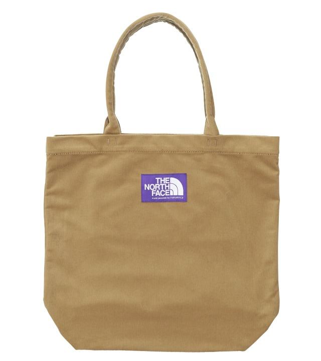 THE NORTH FACE PURPLE LABEL ノースフェイス パープルレーベル Corduroy Tote Bag