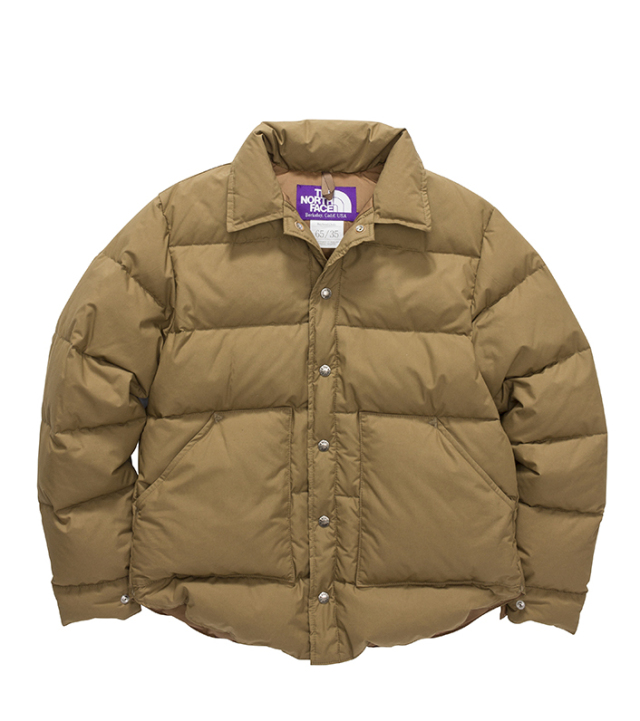 THE NORTH FACE PURPLE LABEL ノースフェイス パープルレーベル Midweight 65/35 Stuffed Shirt