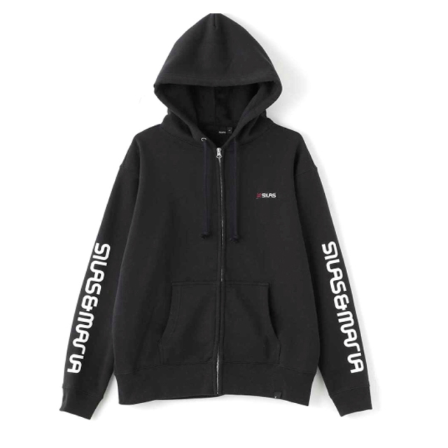 SILAS サイラス SLEEVE SM ZIP UP HD