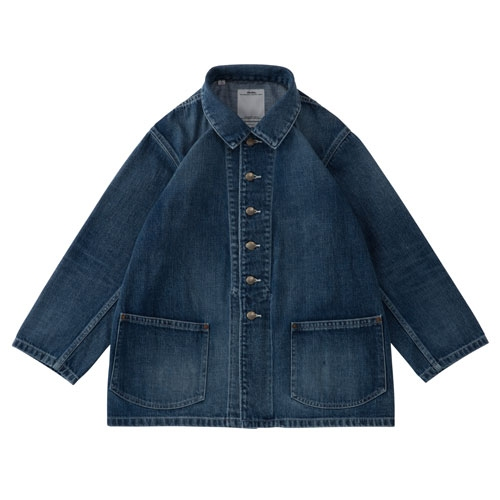 visvim ビズビム 2017AW SS BUCKY COVERALL DAMAGED