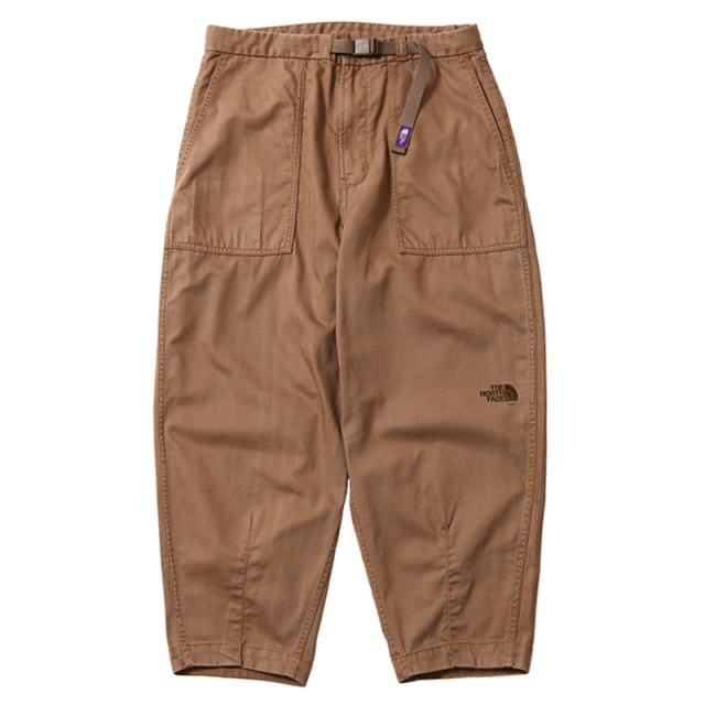 THE NORTH FACE PURPLE LABEL ノースフェイス パープルレーベル Herringbone Twill Wide Cropped Pants