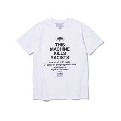 NEIGHBORHOOD ネイバーフッド 2018AW RACISTS / C-TEE.SS