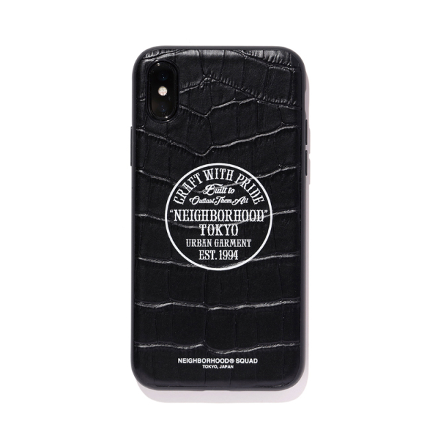 NEIGHBORHOOD ネイバーフッド 2019SS I.P. / CL-IPHONE CASE