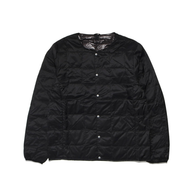 TAION タイオン CREW NECK BUTTON DOWN JACKET TAION-104