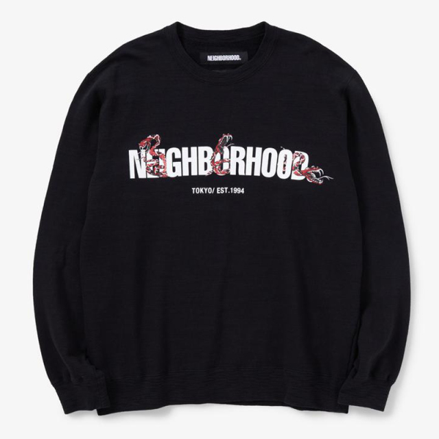 NEIGHBORHOOD ネイバーフッド 2020SS SLUB/C-CREW.LS_N