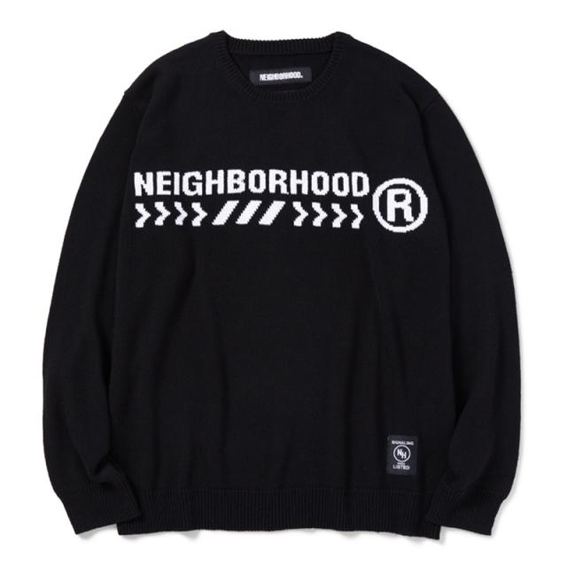 NEIGHBORHOOD ネイバーフッド 2020SS ELECTORO / CA-KNIT . LS