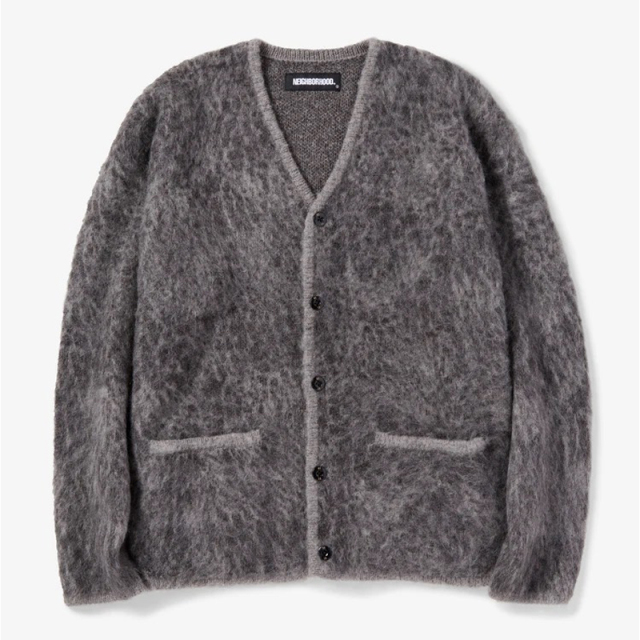 NEIGHBORHOOD ネイバーフッド 2020AW MOHAIR CARDIGAN/NA-KNIT.LS