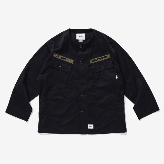 WTAPS ダブルタップス 2020AW SCOUT/LS /COTTON.WEATHER