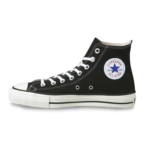 [CONVERSE] コンバース CANVAS ALL STAR J HI (BLACK) キャンバス オールスター ジェイ ハイ