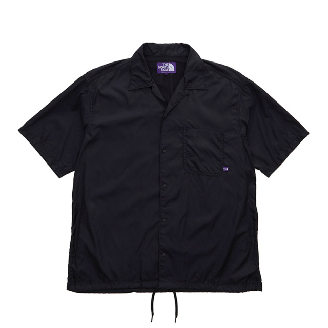 THE NORTH FACE PURPLE LABEL ノースフェイス パープルレーベル Nylon Ripstop H/S Shirt