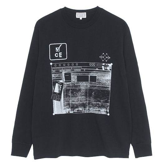 CE シーイー CE CARD 5 LONG SLEEVE T