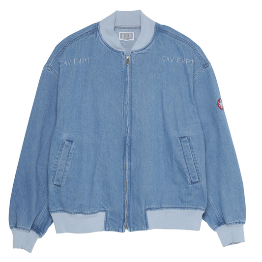 CE シーイー BLEACHED DENIM ZIP JACKET