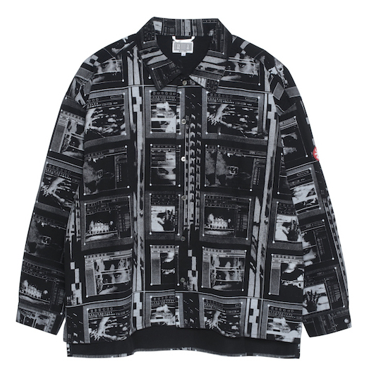 CE シーイー FRAME PRINTED SHIRT JACKET