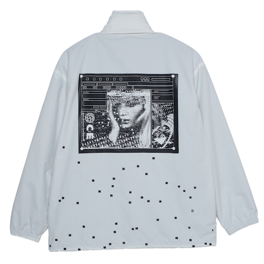 CE シーイー PIXEL EMBROIDERY JACKET