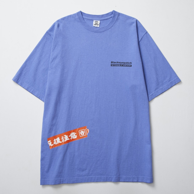 BlackEyePatch ブラックアイパッチ HANDLE WITH CARE TEE