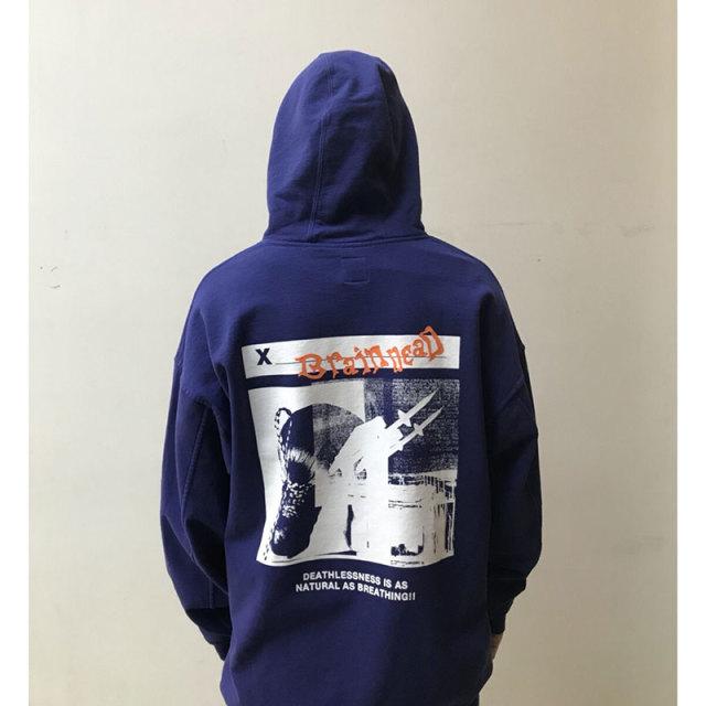 BRAIN DEAD ブレインデッド 2018SS Missle command hoodie