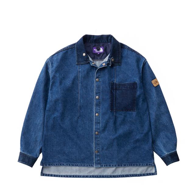 THE NORTH FACE PURPLE LABEL ノースフェイス パープルレーベル Broken Twill Denim Shirt Jacket