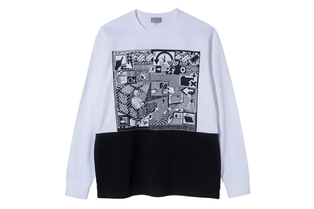 CE シーイー MD TIMETURN LONG SLEEVE T