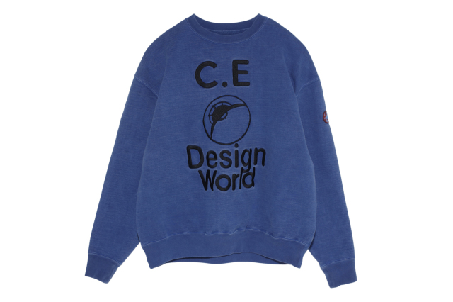 CE シーイー DESIGN WORLD CREW NECK