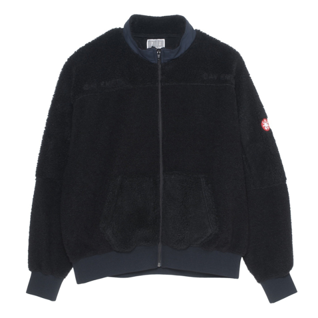 CE シーイー PANEL FLEECE ZIP UP