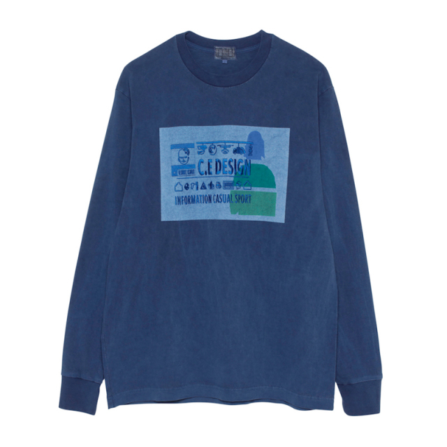CE シーイー INFORMATION LONG SLEEVE T