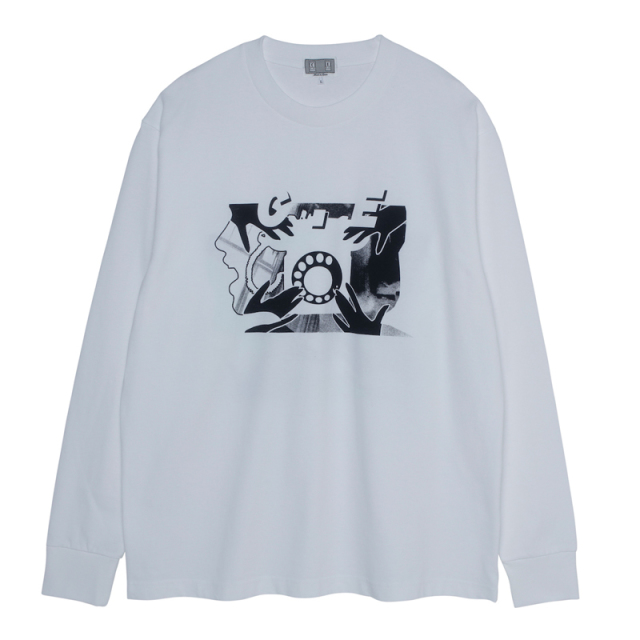 CE シーイー ROTARY DIAL LONG SLEEVE T