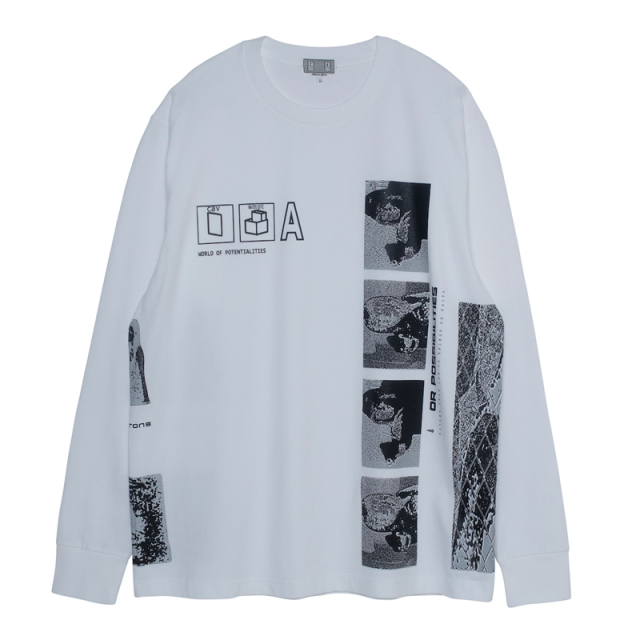 CE シーイー POTENTIALITIES LONG SLEEVE T