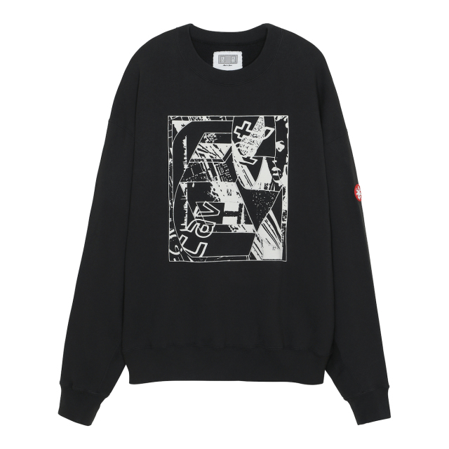 CE シーイー PRODUCTION AND CONSUMPTION CREW NECK