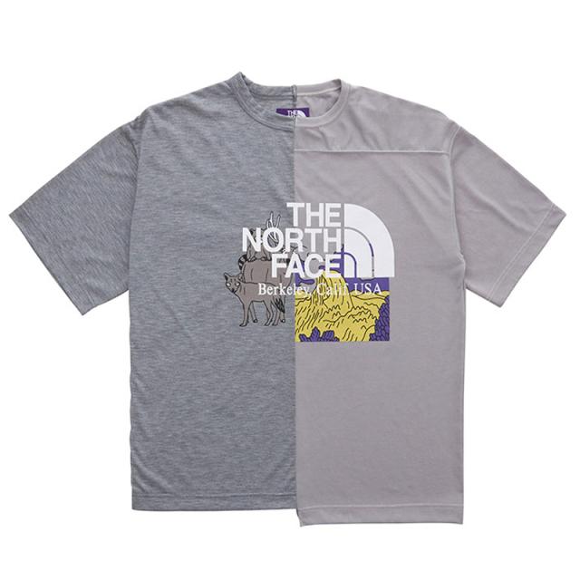 THE NORTH FACE PURPLE LABEL ノースフェイス パープルレーベル Crazy H/S Logo Tee
