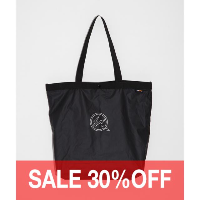 DENIM BY VANQUISH & FRAGMENT CORDURA icon print nylon bag [VFA098]