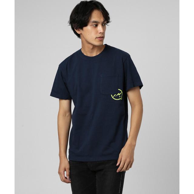 DENIM BY VANQUISH & FRAGMENT Icon Pocket T-shirt[VFC1085]