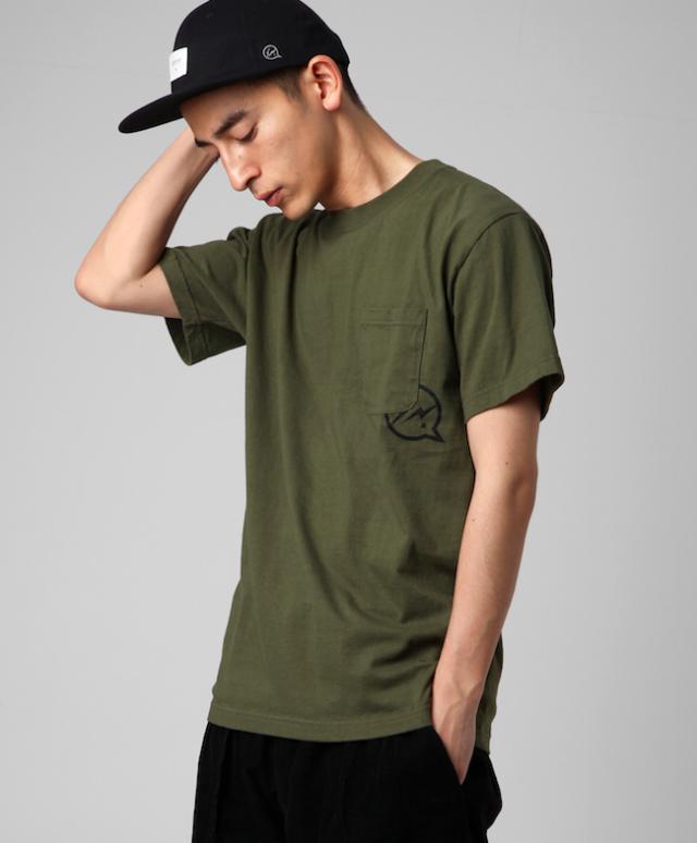 DENIM BY VANQUISH & FRAGMENT Icon Pocket T-shirt[VFC1084]