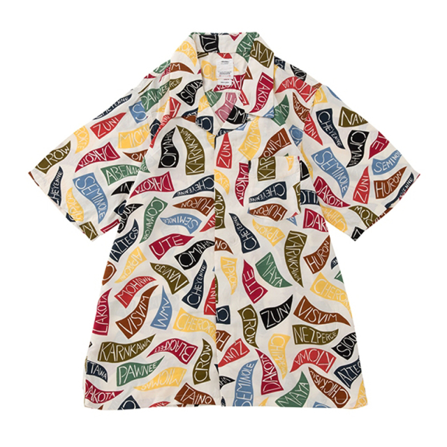 visvim ビズビム 2019SS FREE EDGE SHIRT S/S PENNANTS