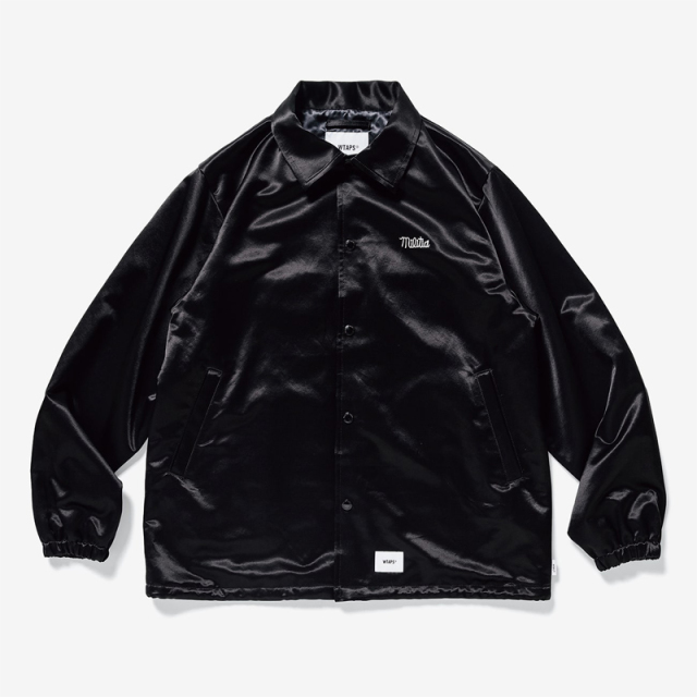 WTAPS ダブルタップス 2019SS GREASERS / JACKET. RACO. SATIN