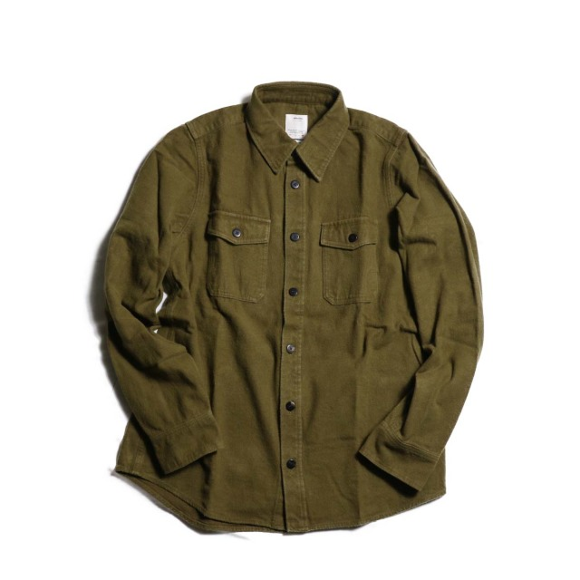 visvim ビズビム 2018AW BLACK ELK SHIRT NELL (DESI COTTON)
