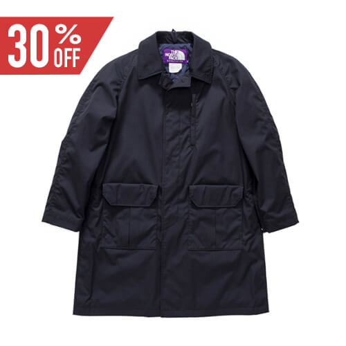 THE NORTH FACE PURPLE LABEL ノースフェイス パープルレーベル 65/35 Insulated Soutien Collor Coat