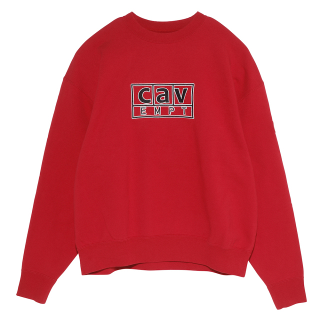 CE シーイー cav BOX CREW NECK
