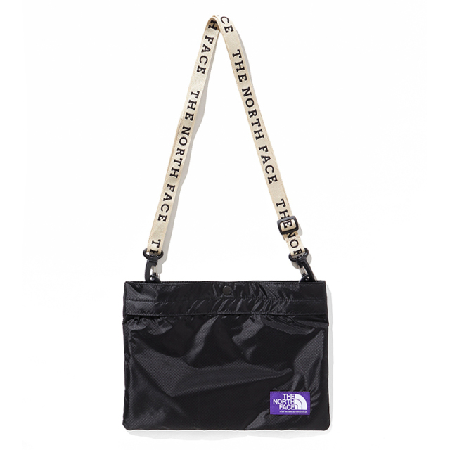 THE NORTH FACE PURPLE LABEL ノースフェイス パープルレーベル Lightweight Logo Tape Shoulder Bag