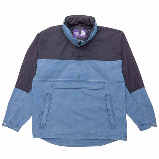 THE NORTH FACE PURPLE LABEL ノースフェイス パープルレーベル Indigo Mountain Wind Pullover