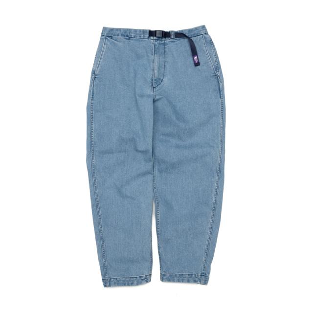 THE NORTH FACE PURPLE LABEL ノースフェイス パープルレーベル Webbing Belt Denim Wide Tapered Pants