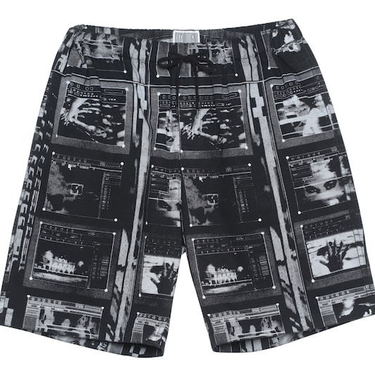CE シーイー FRAME PRINTED SHORTS