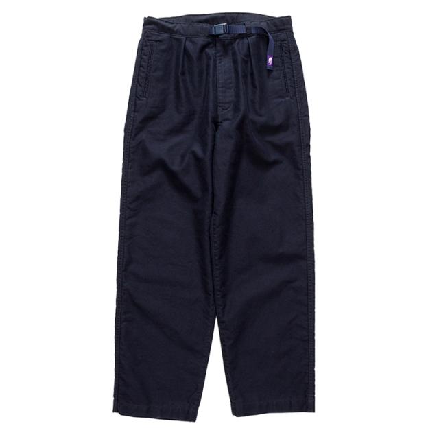 THE NORTH FACE PURPLE LABEL ノースフェイス パープルレーベル Cotton Moleskin Wide Pants